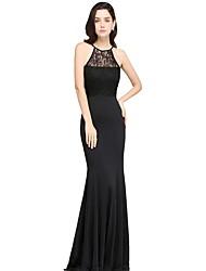 cheap -Women's Sheath Dress - Solid Color Maxi Black S M L XL