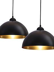 Недорогие -30 cm Единый дизайн Подвесные лампы Металл два камня Окрашенные отделки Винтаж / Северный стиль 110-120Вольт / 220-240Вольт