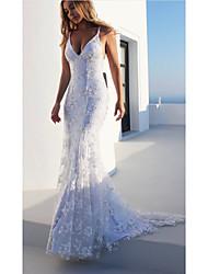 cheap -Women's Swing Dress - Solid Color Maxi White S M L XL