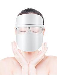 Недорогие -Трехцветный светодиодный фотон красоты инструмент отбеливание уменьшить прыщи веснушки четыре-в-одном защитная маска омоложения кожи зарядки светодиодная маска электронный красоты триколор спектрометр