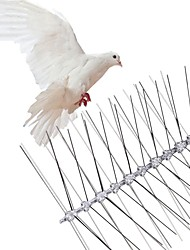 cheap -Stainless Steel Bird Repellent Spikes Anti Pigeon Nail Bird Deterrent Tool Pest Control Pigeons Owl Small Birds Fence Repeller