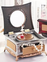 cheap -Jewelry Box - Brown, Rose Gold 15.5 cm 14 cm 9 cm / Women's