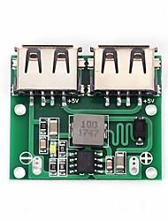 cheap -2 USB Output 9V/12V/24V to 5V 3A DC-DC Buck Regulator Charge Module for Car