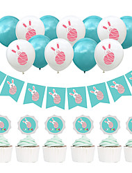 cheap -Ornaments Hard Card Paper 1 set Easter