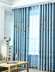 cheap -Gyrohome 1PC Sea Fish Shading High Blackout Curtain Drape Window Home Balcony Dec Children Door *Customizable* Living Room Bedroom Dining Room