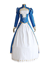 cheap -Inspired by Fate / Stay Night Saber Anime Cosplay Costumes Japanese Cosplay Suits Top Dress Tutus For Women's