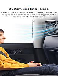 Недорогие -Baseus складные мини USB-вентиляторы автомобильное заднее сиденье кулер вентилятор портативный вентилятор воздушного охлаждения для домашнего путешествия подголовник автомобиля настольные офисные
