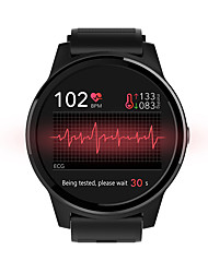 cheap -NORTH EDGE E101 Unisex Smartwatch Android iOS Bluetooth Touch Screen Heart Rate Monitor Blood Pressure Measurement Calories Burned Information ECG+PPG Pedometer Call Reminder Sleep Tracker Sedentary