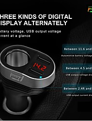 cheap -FIXST 15 W Car Charger USB Charger USB 2 USB Ports 3 A DC 5V for