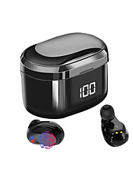 cheap -X6 LED Wireless Earbuds TWS Headphones Wireless with Microphone with Charging Box Sweatproof IPX5 for Mobile Phone