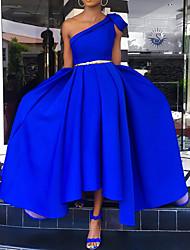 cheap -Women's Swing Dress - Solid Color Maxi Royal Blue M L XL XXL