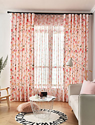 cheap -Gyrohome 1PC Peachs Shading High Blackout Curtain Drape Window Home Balcony Dec Children Door *Customizable* Living Room Bedroom Dining Room