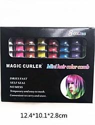 Недорогие -мгновенный цвет воска для волос высвобожденный сделай сам цвет волос воск грязь краска крем временное моделирование моющиеся временные натуральные волосы помада крем 6/10 цветов