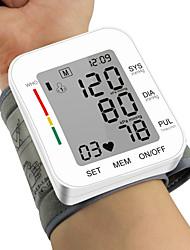 cheap -Cuff Wrist Sphygmomanometer Blood Presure Meter Monitor Heart Rate Pulse Portable Tonometer BP Wrist Blood Pressure Monitor Automatic Digital Tonometer Meter RZ204W