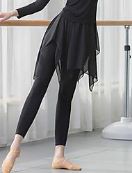 cheap -Ballet Pants Split Joint Women's Training Performance High Modal Chiffon
