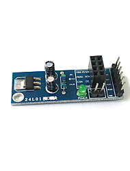 cheap -NRF24L01 Wireless Module Socket Adapter Board Wireless Communication Module