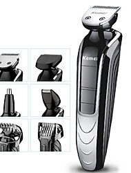 cheap -6 in 1 Rechargeable Shaver Hair Trimmer Rechargeable Electric Nose Hair Clipper Professional Beard Razor Haircut Cutting Machine