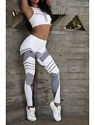 cheap -Activewear Pants Pattern / Print Women's Daily Wear Running Terylene Polyester Taffeta