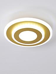 cheap -20 cm Line Design Flush Mount Lights Metal Acrylic Modern Style Painted Finishes LED / Modern 110-120V / 220-240V