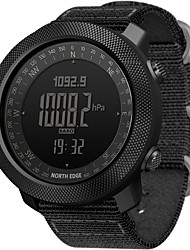 cheap -NORTH EDGE Men's Military Watch Smartwatch Analog - Digital Digital Modern Style Sporty Casual Water Resistant / Waterproof Altimeter Thermometer / One Year / Stainless Steel / Nylon / Japanese