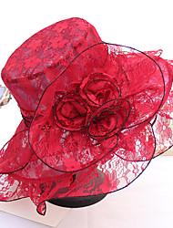 Недорогие -Старинный Мода Кружево Головные уборы с Кружева / Цветы / Отделка 1 шт. Свадьба / на открытом воздухе Заставка