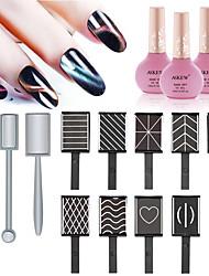 Недорогие -12шт Металл Аксессуары для ногтей Многофункциональный Креатив Мода Повседневные УФ-гель для Маникюр Педикюр