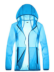 cheap -Protective Clothing Anti Dust And Droplet Men's Suit, Solid Colored Hooded Long Sleeve Polyester White / Blue