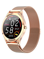 cheap -MK10 Long Battery-life Smartwatch for Android/IOS/ Samsung Phones, Stainless Steel Sports Tracker Support Heart Rate/ Blood Pressure Monitor