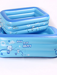 cheap -Kiddie Pool Paddling Pool Inflatable Pool Intex Pool Inflatable Swimming Pool Kids Pool Water Pool for Kids Fun Novelty Extra Large Silica Gel Plastic Summer Swimming 1 pcs Kid's Adults Kids Adults'