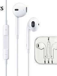 cheap -2PCS LITBest 3.5mm Wired In-ear Earphone Wired Earbud with Microphone for iPhone