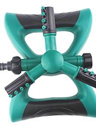 cheap -Lawn Watering sprinkler garden lawn sprinkler, bridge maintenance sprinkler, large trident, 360-degree rotating tandem sprinkler