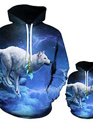 cheap -3D Print Animal Wolf Hoodie Casual Hoodies Boy Girl Spring Autumn Pullovers Harajuku Sweatshirts Tracksuit