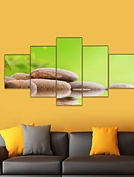 cheap -AMJ Hot Sale Art Pebble Pentagram Living Room Sofa Background Wall Decoration Canvas Picture Frameless Core