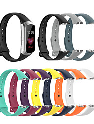 cheap -Smart Watch Band for Samsung Galaxy 1 pcs Sport Band Silicone Replacement  Wrist Strap for galaxy fit SM-R370 Samsung Galaxy Fit SM-R370
