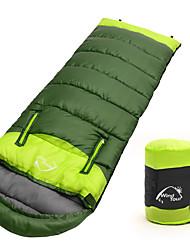 Недорогие -Спальный мешок на открытом воздухе Походы Детский 10 °C Пористый хлопок Сохраняет тепло С защитой от ветра Дожденепроницаемый Быстровысыхающий Все сезоны для