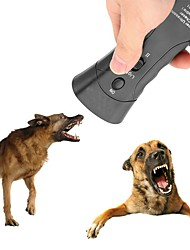 cheap -New Ultrasonic Dog Chaser Aggressive Attack Repeller Trainer LED Flashlight training Repeller Control Anti Bark Barking