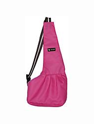 cheap -Dog Cat Carrier Bag & Travel Backpack Shoulder Messenger Bag Portable Soft Travel Pet Fabric Polka Dot Black White / Red Stripe