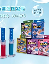 cheap -Toilet Bow Cleaner Fresh Gel Toilet Bowl Cleaning Stamps Gel Cleaner Helps Prevent Limescale and Toilet Rings Rainshower Lemon Scent 8 Stamps