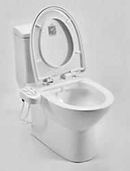 cheap -Bidet Smart Self Cleaning Nozzle - Fresh Water Non-Electric Mechanical Bidet Toilet Attachment White