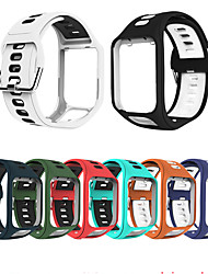 cheap -Watch Band for TomTom Adventurer / TomTom Spark 3 / TomTom Runner 2 TomTom Sport Band TPE Wrist Strap