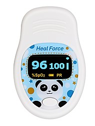 cheap -Heal Force Pulse Oximeter Fingertip Kids Pulse Oximeter Fingertip Oximeter CVS Children's Oximeter Home Finger Pulse Oxygen Heartbeat Pulse Rate Pulse Monitor Prince-100D Batteries not Included