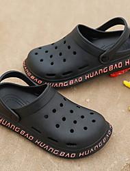 cheap -Men's PVC Spring & Summer Casual Slippers & Flip-Flops Breathable Blue / Black / Beige