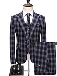 cheap -Men's Suits Notch Lapel Polyester