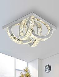 cheap -Modern Ceiling Light 4 Led Lights Flush Mount Stainless Steel Crystal Wall Light for Living Bed Room Asile Lighting