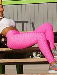 cheap -Women's Sporty Slim Sweatpants Pants - Solid Colored White Black Blue S / M / L