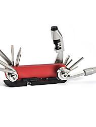 cheap -WAKE® Bike Tool Bike Multi-Tool Cycling Repair Kit For Road Bike Mountain Bike MTB Folding Bike Recreational Cycling Fixed Gear Bike Cycling Bicycle Aluminum Alloy Stainless steel Black / Red