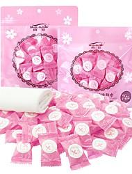 Недорогие -100 штук спрессованных одноразовых полотенец для лица для домашнего ухода за кожей лица