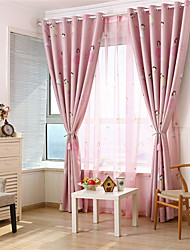 cheap -Gyrohome 1PC Pink Prince Shading High Blackout Curtain Drape Window Home Balcony Dec Children Door *Customizable* Living Room Bedroom Dining Room