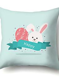 Недорогие -пасхальный мультфильм кролик наволочка цифровая печать диван наволочка наволочка