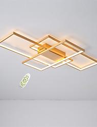 cheap -feimiao 3-Light 60 cm Square Line Design / Line Design / Geometric Shapes Flush Mount Lights Aluminum Silica gel Brushed / Painted Finishes LED / Modern 110-120V / 220-240V